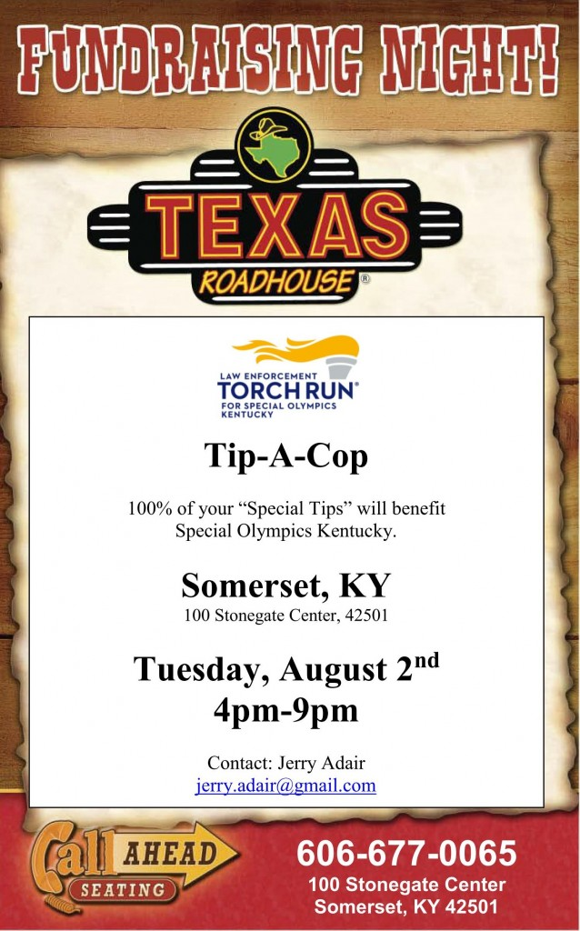 Tip-A-Cop Texas Roadhouse Somerset Flyer_01